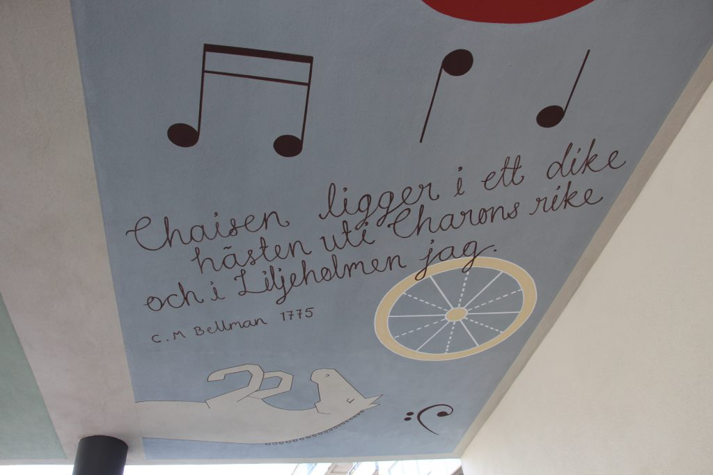 Offentlig konst i Liljeholmen.